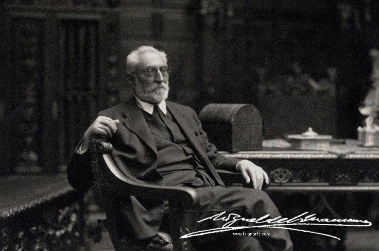 Unamuno Jugo, Miguel de(1864-1936).